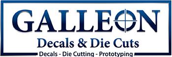 Galleon Decals & Die-Cuts, alternate logo