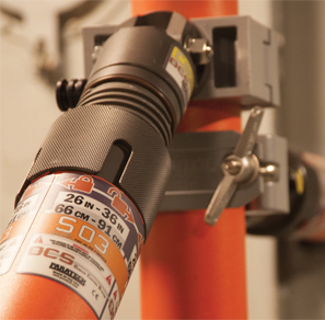 An image showing High Performance Decals on a valve